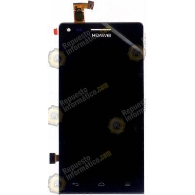 Pantalla completa (Display + Tactil ) Huawei Ascend G6 (Orange Gova) Negra