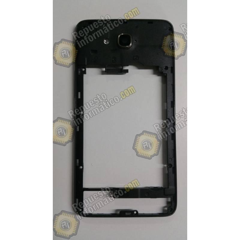 091b25ea377 Carcasa intermedia con lente de cámara Huawei Ascend G750 Negra Swap