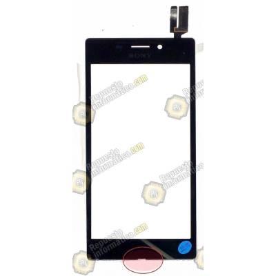 Táctil Sony Xperia M2 (AQUA) (d2403,d2406) Negra