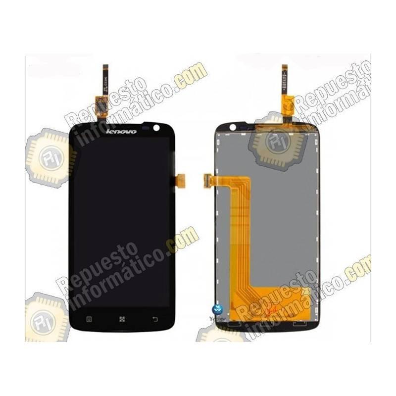 Pantalla (LCD+Táctil) Negra Lenovo S820