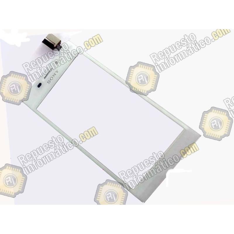 Táctil Sony Xperia M2 (AQUA) (d2403,d2406) Blanco