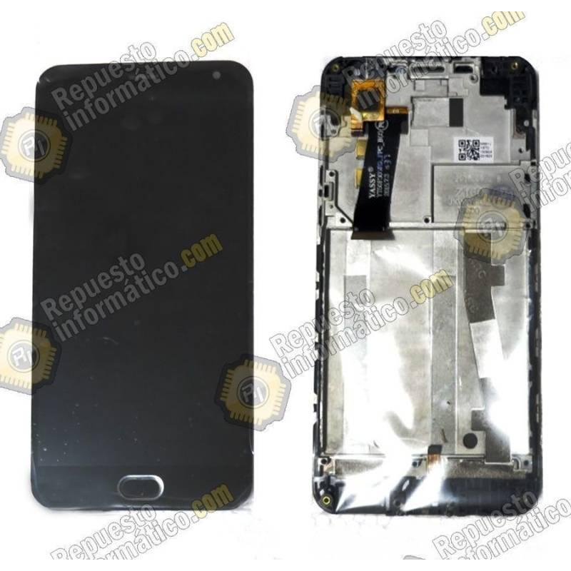 """Pantalla (LCD+Táctil+Marco) Meizu M2 Mini 5"""" (FPC-T50KB21S3M-1) Negra"""