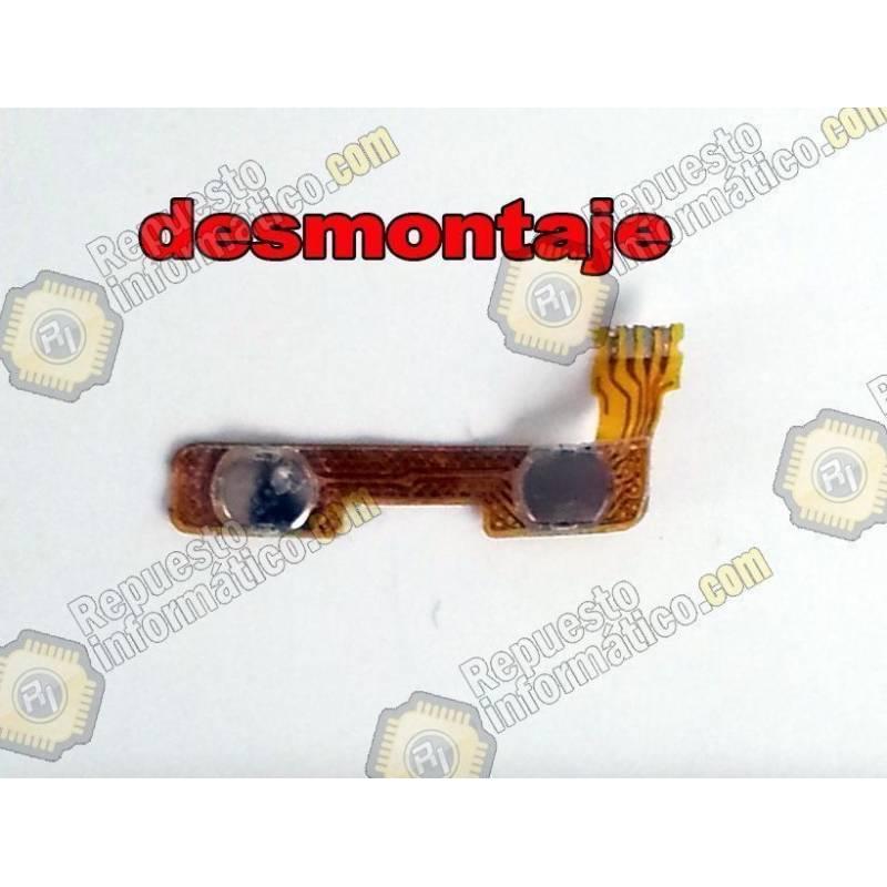 Flex Botones Laterales para Szenio Syreni 40DC II