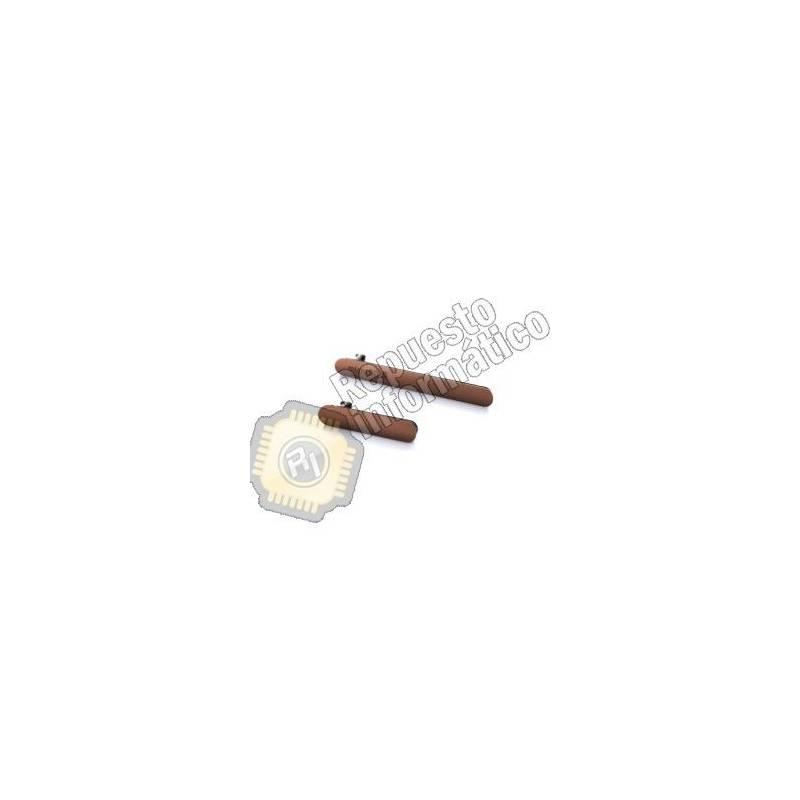 Set de Tapas Laterales SIM+USB (MARRONES) Xperia Z3 (D6603, D6616, D6643, D6653)