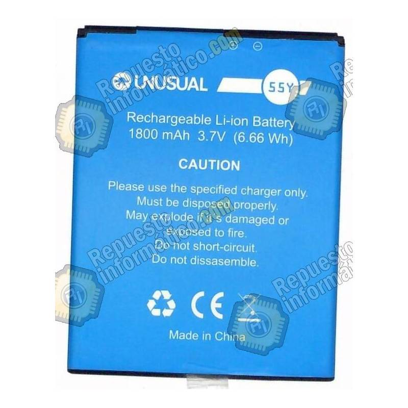 Batería UNUSUAL 55X 55Y