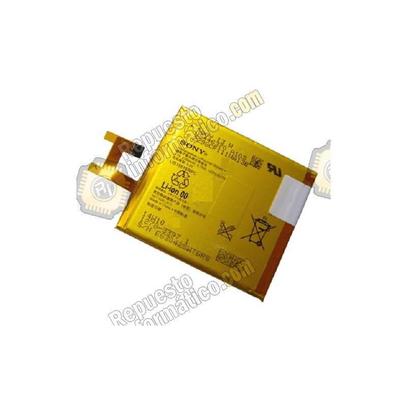 Batería Sony Xperia M2 Aqua D2303, D2305, D2306 y M2 Dual D2302, S50h 2330 mAh