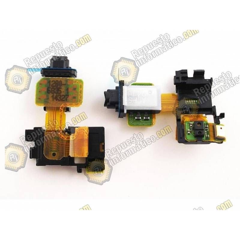 Flex Conector audio y sensor Sony Xperia Z3, D6603 (Swap)