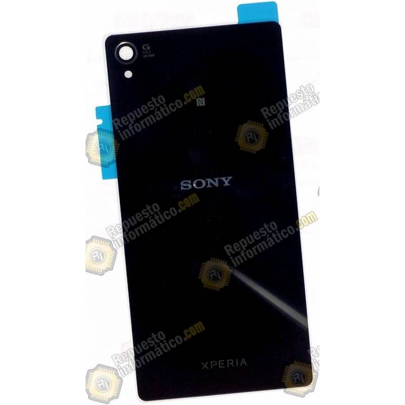 Tapa Trasera+ Lente+ NFC Xperia Z3 (Negra) Swap