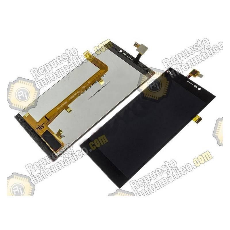 Pantalla (LCD+Táctil) Pantalla Wiko Ridge Fab 4G Negra