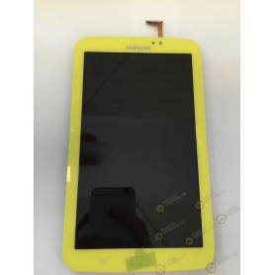 Pantalla (Lcd + Táctil + Marco) Galaxy Tab 3 7.0 (T210) Wifi Amarilla - Directo de Fabrica