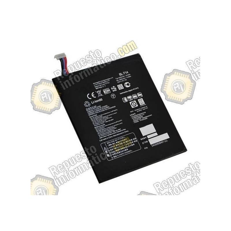 Batería original BL-T14 LG G PAD V490 8.0 4000Mah recuperada
