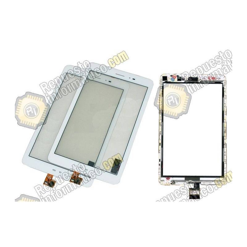 Pantalla Táctil Original Huawei Mediapad T1 S8-701 Blanca (con marco)