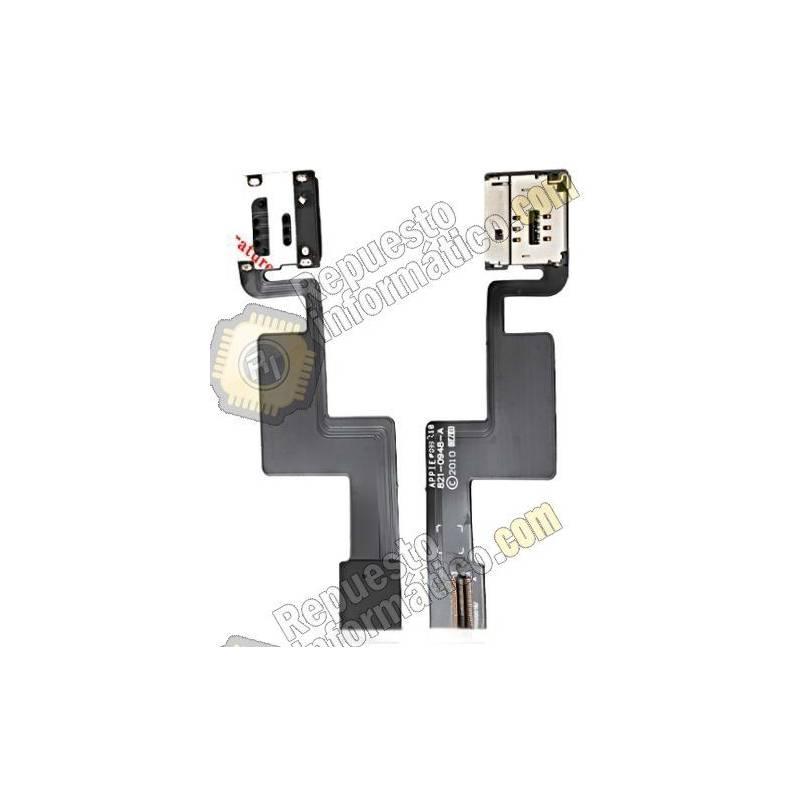 Flex Cable Tarjeta Sim iPad 1 3G