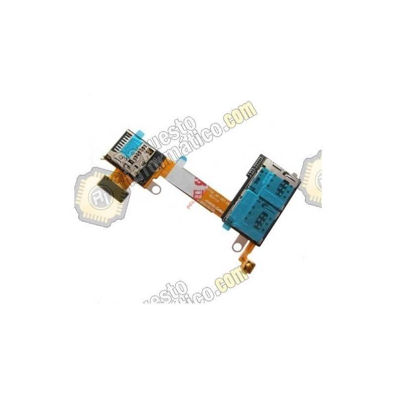 Flex Sim y memoria Micro SD para Sony Xperia M2 (DUAL)