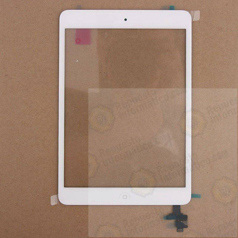 Táctil para iPad Mini Blanco con Conector IC+BOTON HOME