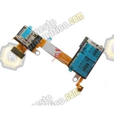 Flex Sim y memoria Micro SD para Sony Xperia M2 (DUAL) (Swap)