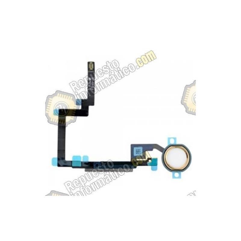 Flex Botón Home iPad Mini 3 (DORADO)