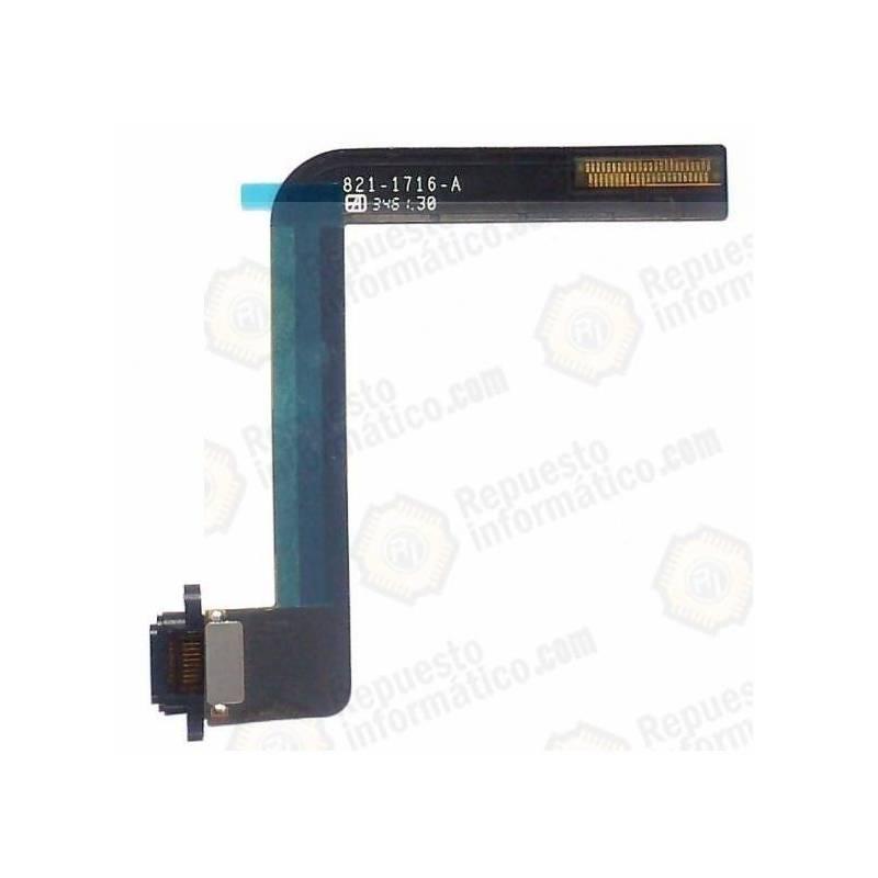 Flex Conector Dock Carga iPad Air Black Negro