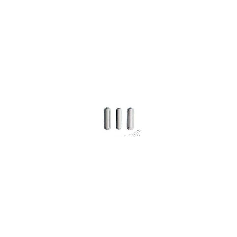 Botón ENCENDIDO/APAGADO+VOLUMEN+SILENCIO PLATA iPad AIR 2