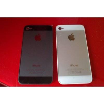 e9a0909b216 TAPA TRASERA iPHONE 4 CONVERSIÓN iPHONE 5 NEGRA