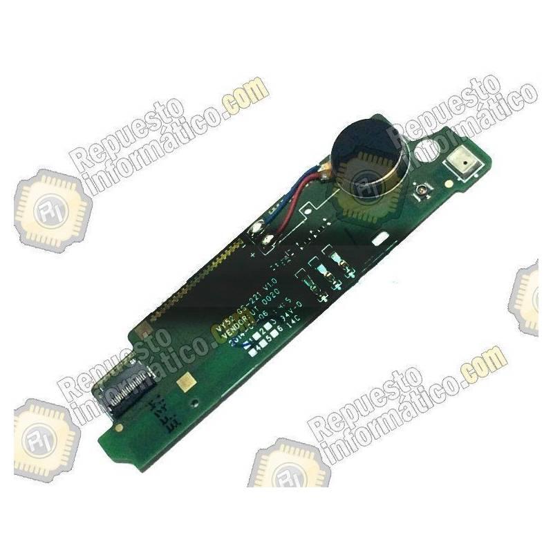Módulo Placa Vibrador con Micro Xperia M2 (DUAL)