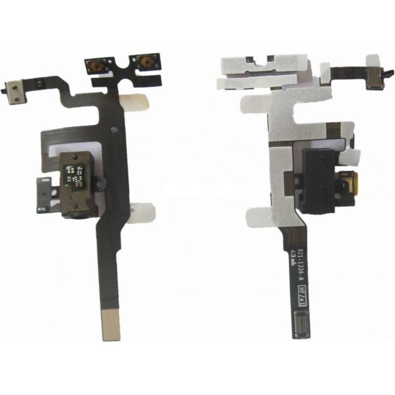 Conector Flex audio iPhone 4S