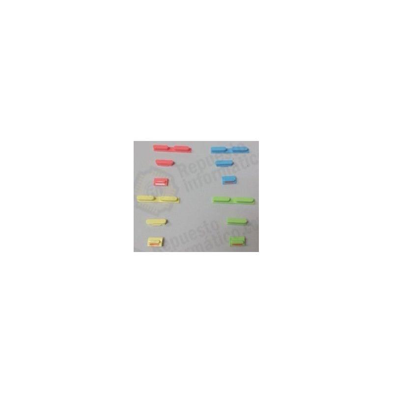 Juego de Botones Colores iPhone 5C