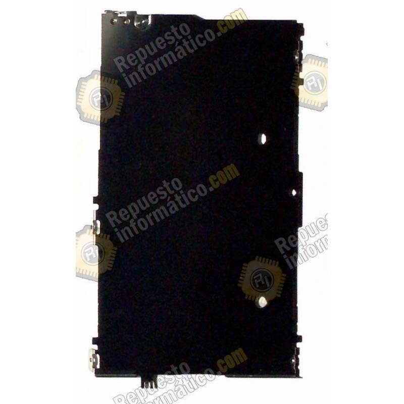 placa metalica, soporte de pantalla para iPhone 5C