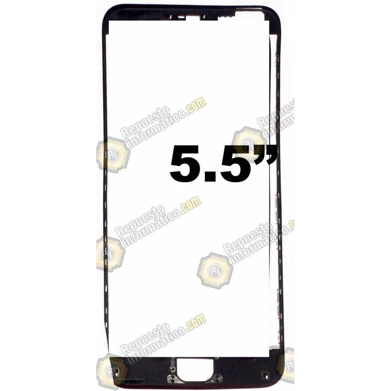 "Marco Flexible intermedio para iPhone 6 PLUS (5.5"") (Negro)"