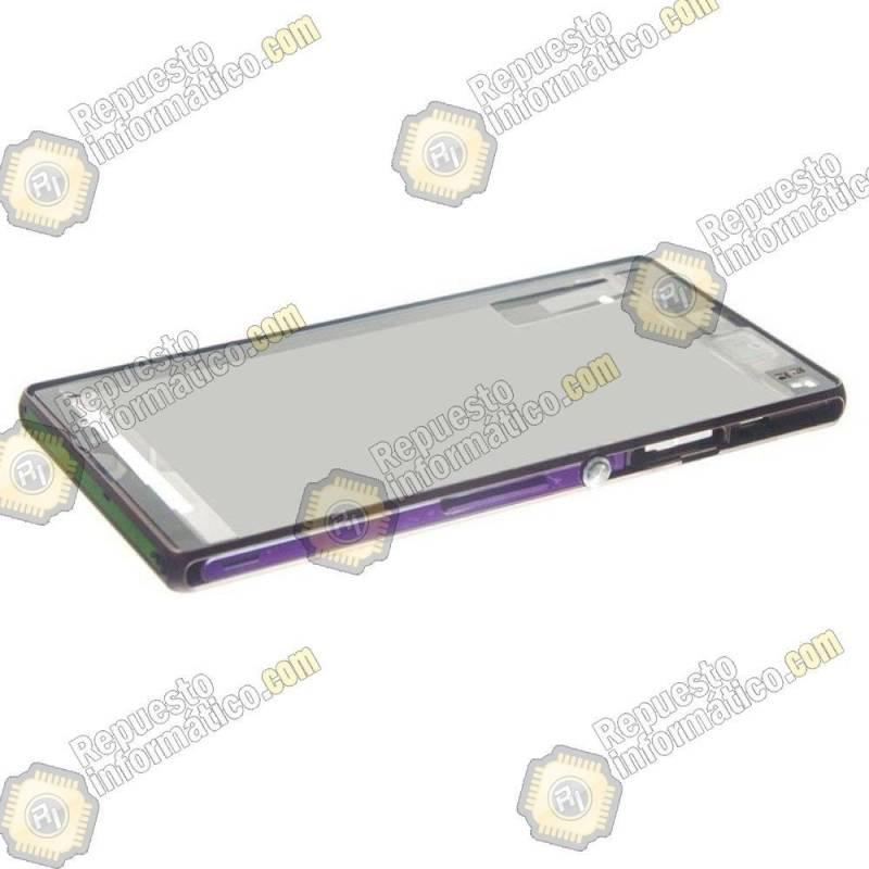 Marco violeta Xperia Z L36h (nuevo)