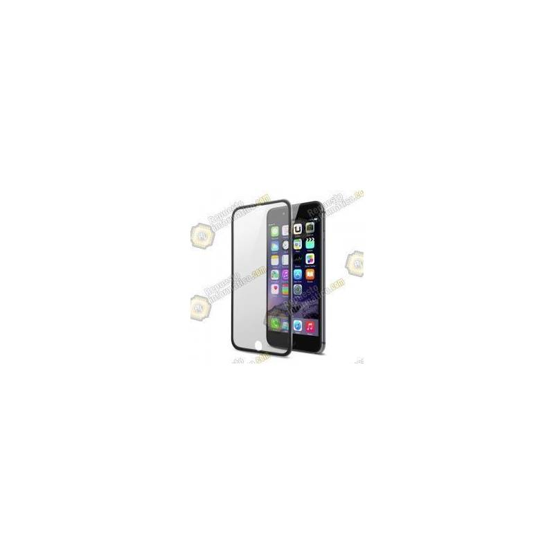 "Cristal Templado Borde Fino iPhone 7 (4.7"") (Negro)"