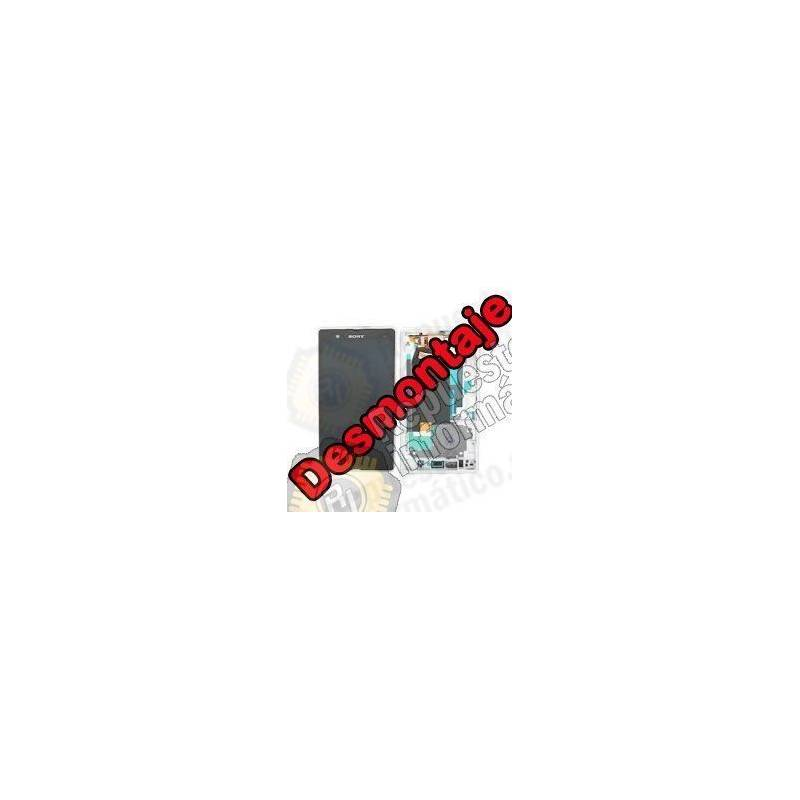 Pantalla (LCD+Táctil+Marco) Xperia Z Negra (Swap)