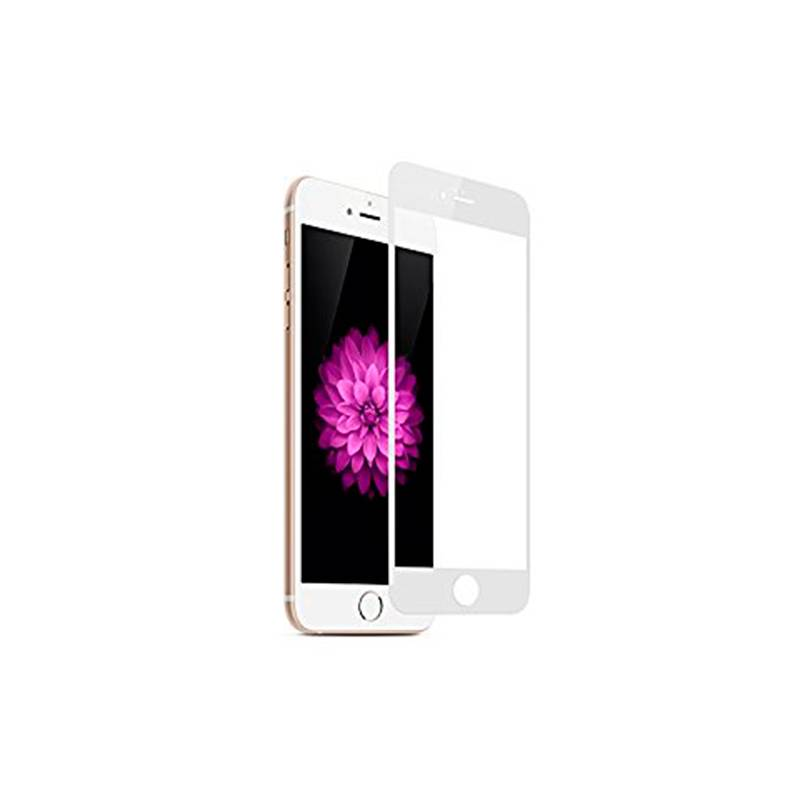 Cristal Templado 3D Blanco para iPhone 6 Plus