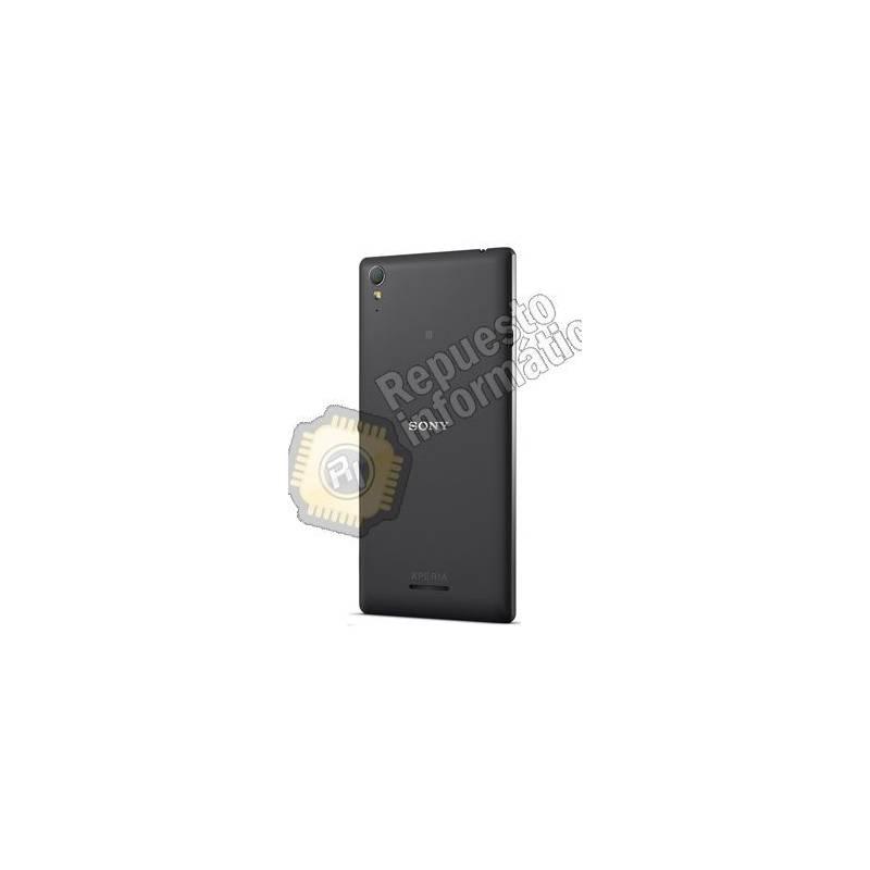 Tapa trasera para Sony Xperia T3 Negra (Desmontaje)