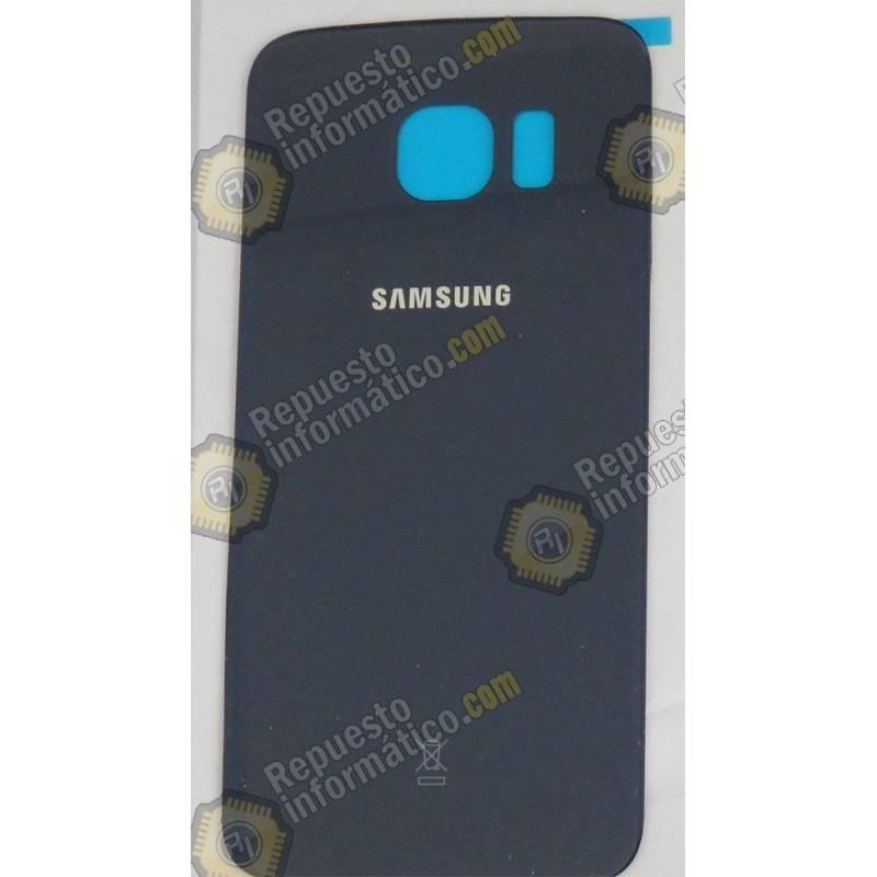 Tapa Trasera de Cristal Azul Galaxy G925 (S6 Edge)