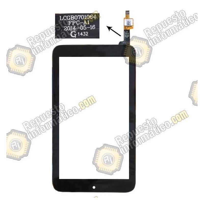 Táctil Alcatel ONE Touch Pixi 7 (LCGB0701064 FPC-A1) Negra