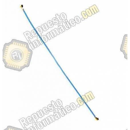 Cable Coaxial Antena Galaxy S7 (G930F) Azul 89mm