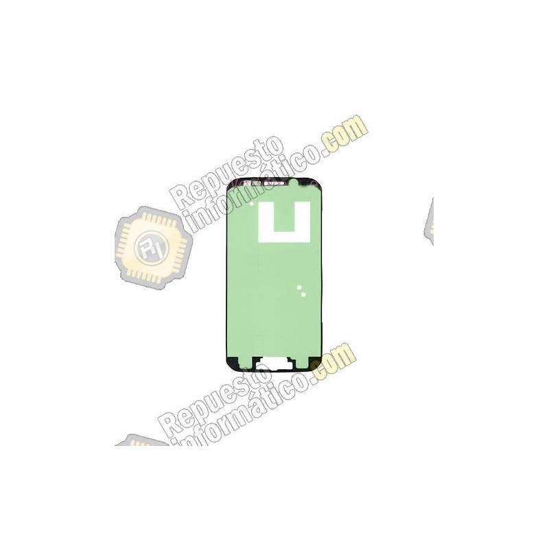 Adhesivo Pegatina Marco Frontal Display Galaxy S6 Edge