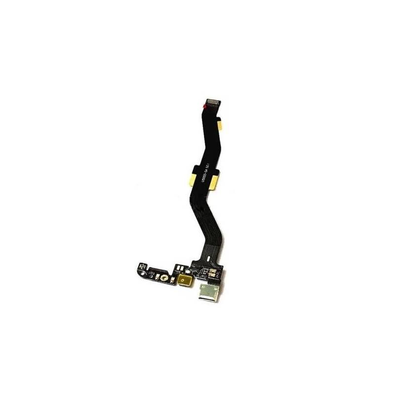 Flex con Conector de Carga y Microfono Oneplus X