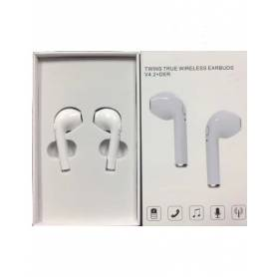 Earpod I7 Bluetooth White