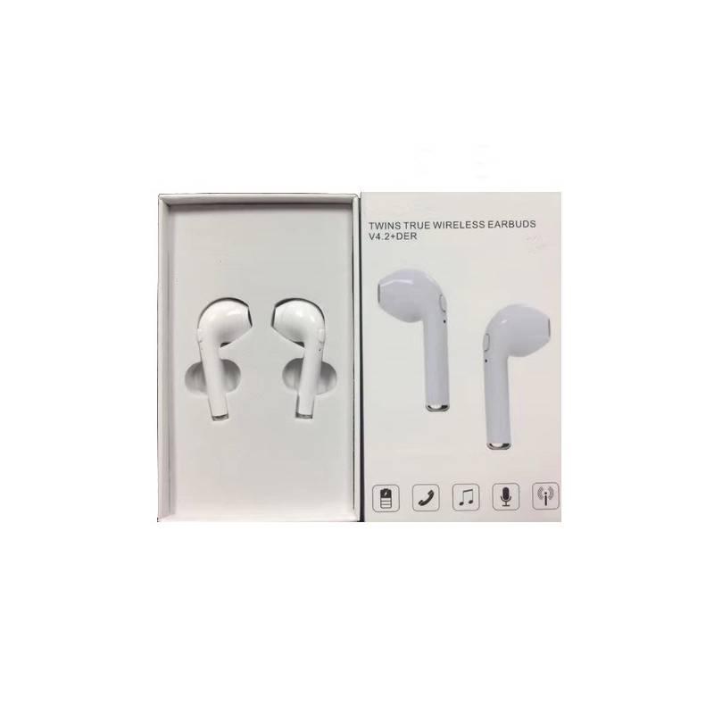Auriculares Earpod I7 Bluetooth White