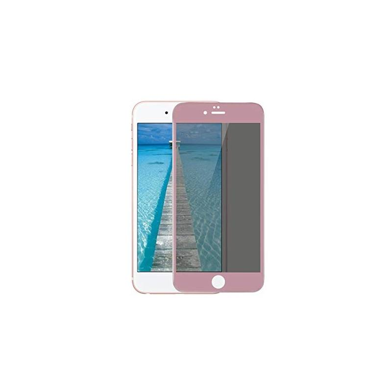 Cristal Templado 3D Rosa IPhone 6 Plus / 6S Plus