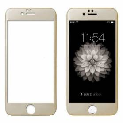 Cristal Templado 3D IPhone 6 Plus / 6S Plus Dorado