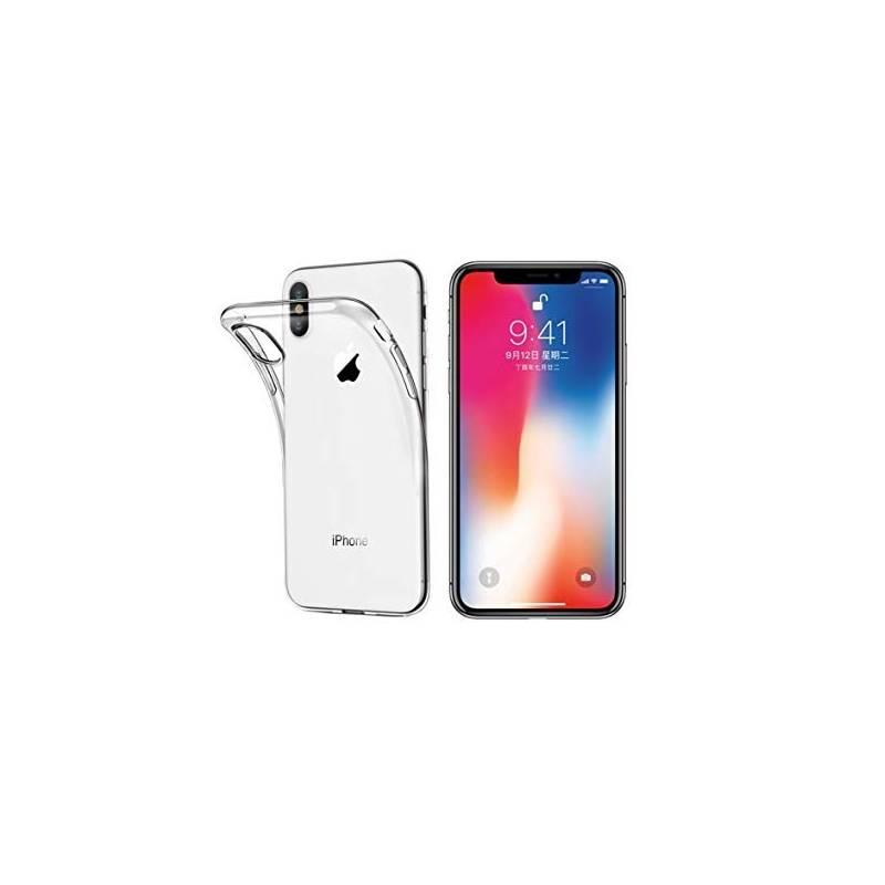 Funda IPhone X / IPhone XS Gel Transparente Shock- Absorción y Anti-Arañazos