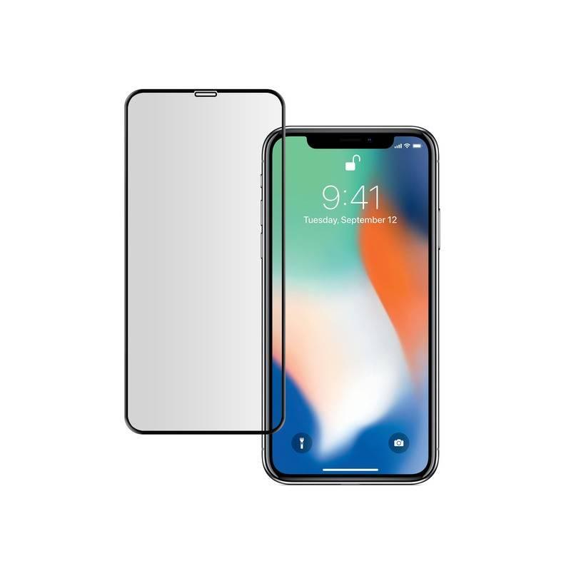 Cristal Templado IPhone X / XS 3D Negro