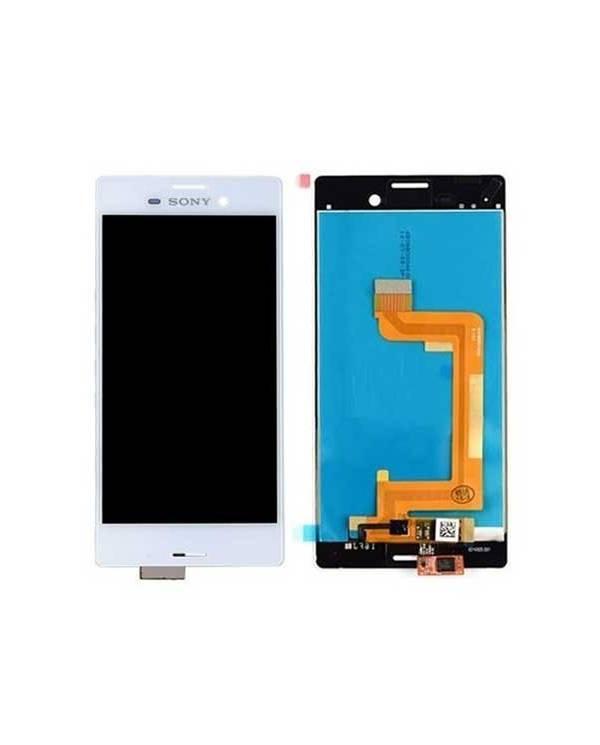 Pantalla (LCD+Táctil) Xperia M4 Aqua Blanca