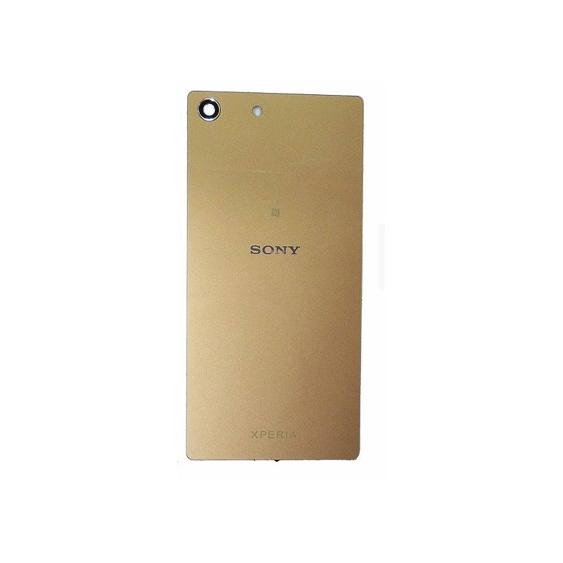 Tapa Trasera Original Sony Xperia M5 E5633, E5643, E5663 Dorada Swap