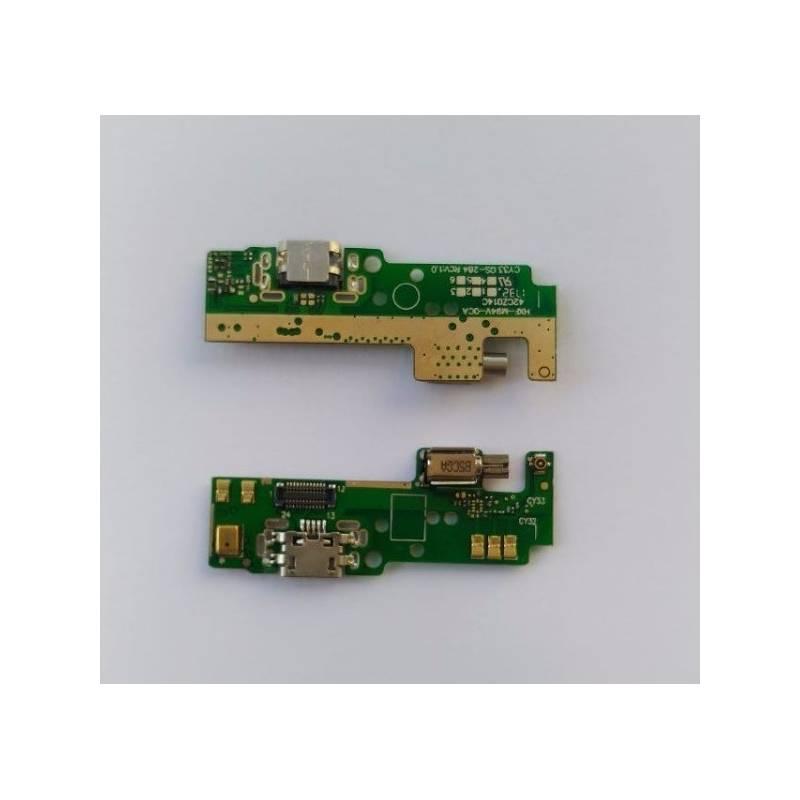 Placa Conector de Carga + Vibrador y Microfono Sony Xperia E5 F3311 Swap