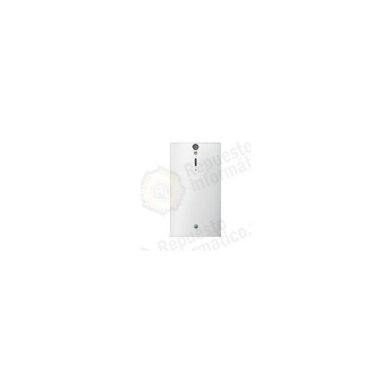 Tapa Trasera Sony Xperia LT26i S Blanco