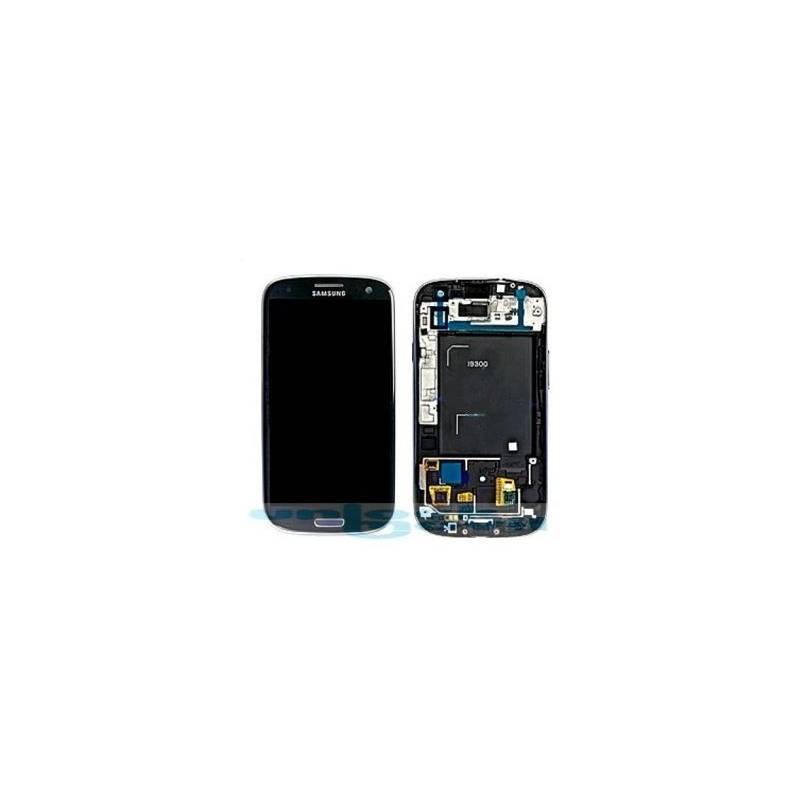Pantalla (Lcd+tactil+marco) Galaxy S3 i9300 Azul (directo de fabrica) 100% Testeada